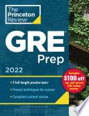 Princeton Review GRE Prep  2022