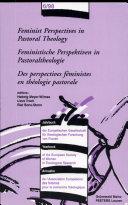 Des Perspectives Féministes en Théologie Pastorale