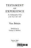 Testament of Experience Book PDF