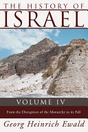 The History of Israel  Volume 4