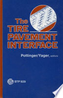 The Tire Pavement Interface