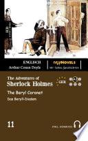 The Adventures of Sherlock Holmes   The Beryl Coronet   Zweisprachig Englisch Deutsch Book