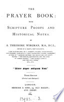 The Prayer book  with Scripture proofs and historical notes Book