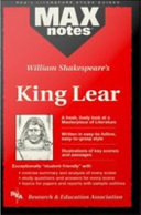 King Lear  MAXNotes Literature Guides