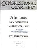 Congressional Quarterly Almanac  1977