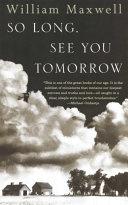 So Long, See You Tomorrow [Pdf/ePub] eBook