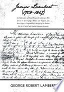 James Lambert  1758 1847