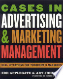 Cases in Advertising and Marketing Management Book