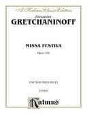 MISSA FESTIVA OP. 154