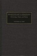 Shakespeare s Criminals