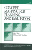 Concept Mapping for Planning and Evaluation