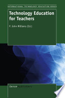 Technology Education for Teachers Book