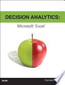 Decision Analytics  : Microsoft Excel