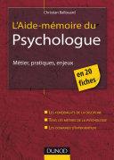 Pdf L'aide-mémoire du psychologue Telecharger