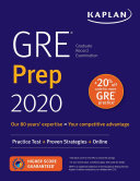 link to GRE prep 2020. in the TCC library catalog