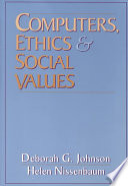 Computers, Ethics & Social Values