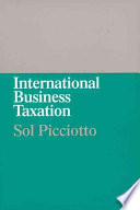 International Business Taxation