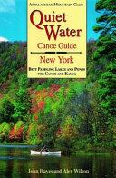 Quiet Water Canoe Guide  New York