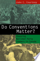 Do Conventions Matter