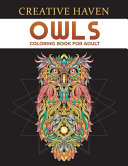 Creative Haven Owls Coloring Book for Adult