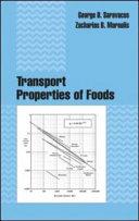 Transport Properties of Foods