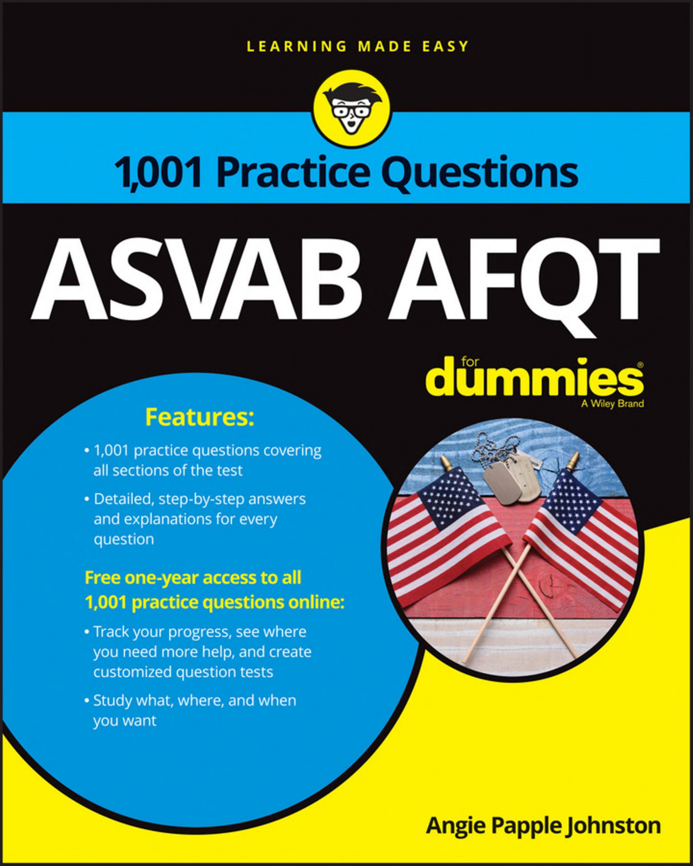 1 001 ASVAB AFQT Practice Questions For Dummies