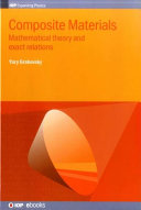 Mathematical Theory of Composite