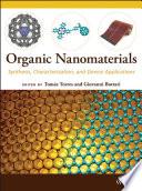 Organic Nanomaterials Book PDF