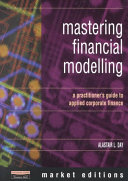 Mastering Financial Modelling Book