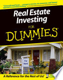 """Real Estate Investing For Dummies"" by Eric Tyson, Griswold"