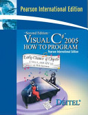 Cover of Visual C# 2005