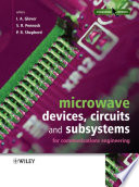 Microwave Devices  Circuits and Subsystems for Communications Engineering