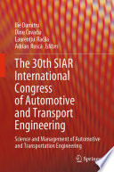 The 30th SIAR International Congress of Automotive and Transport Engineering