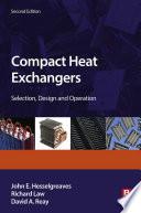 Compact Heat Exchangers Book