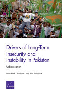 Drivers of Long-Term Insecurity and Instability in Pakistan Pdf/ePub eBook