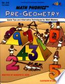 Math Phonics Pre Geometry Ebook