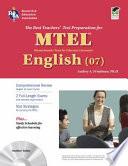 Massachusetts MTEL English (07)