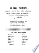 A newe enterlude, drawen out of the holy scripture, of godly queene Hester, verye necessary