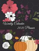 Weekly Calendar 2020 Planner