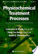 book cover Physicochemical treatment processes