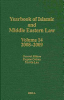 Yearbook Of Islamic And Middle Eastern Law Volume 14 2008 2009