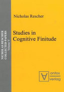Studies in Cognitive Finitude