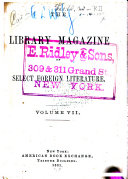 The Library Magazine of American and Foreign Thought