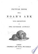 A Picture Book for a Noah s Ark Book