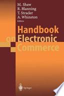 Handbook on Electronic Commerce Book