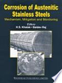 Corrosion of Austenitic Stainless Steels Book