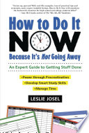 How to Do It Now Because It s Not Going Away Book PDF