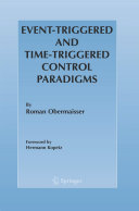 Event-Triggered and Time-Triggered Control Paradigms - Seite ii