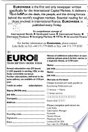 The Cedel Euromoney Directory