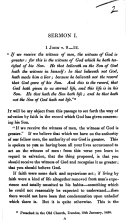 Sermon I. [on] 1 John v. 9-12. (Sermon II. Sermon III. Sermon IV. [By J. MacL. Campbell.]).